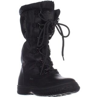 Coach Sage Winter Boots, Black/Black