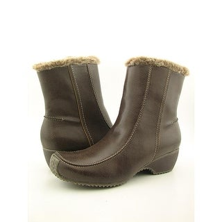 Sporto Maggie Women Round Toe Synthetic Brown Snow Boot