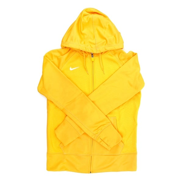 f4c00e8f1b74 Shop Nike Therma-FIT Women s Yellow Full Zip Training Hoodie - X Large -  Free Shipping Today - Overstock - 21294039
