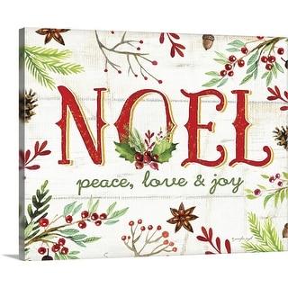 """Noel"" Canvas Wall Art"