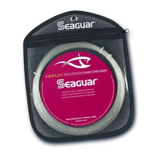 Seaguar AbrazX 25 - Muskie/Pike Leader 90 Lb. Test Line - 90AX25