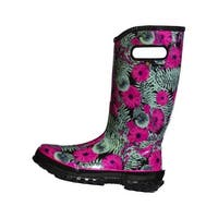 Bogs Outdoor Boots Womens Living Gardens Rain Waterproof Rubber