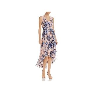 Eliza J Womens Maxi Dress Ruffled Floral