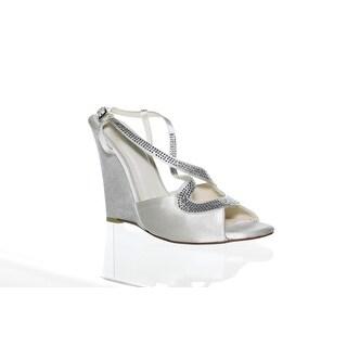 Link to Menbur Womens Maria Del Mar Ivory Open Toe Heels EUR 38 Similar Items in Women's Shoes