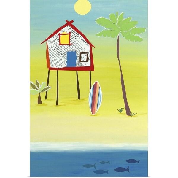 """""""Margarita Villa"""" Poster Print"""