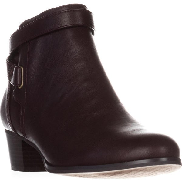 GB35 Oleesia Casual Ankle Boots, Pinot - 9 us