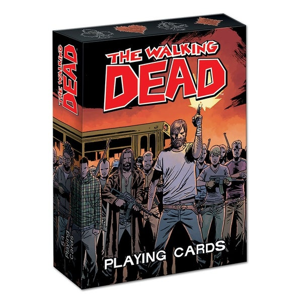 The Walking Dead (Comic) Playing Cards - multi