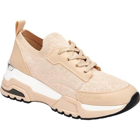 Calvin Klein Womens Hensley Fashion Sneakers Lifestyle Gym