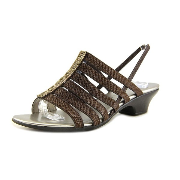 Karen Scott Estevee Women Bronze Sandals