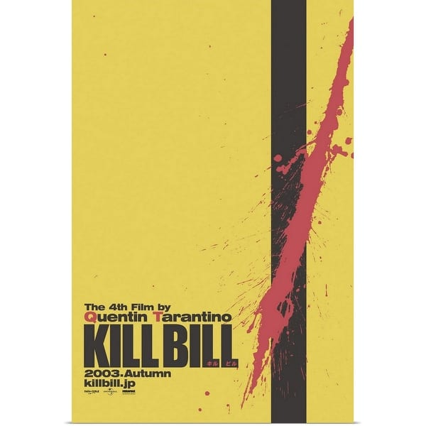 Shop Black Friday Deals On Kill Bill Vol 1 2003 Poster Print Overstock 24130683