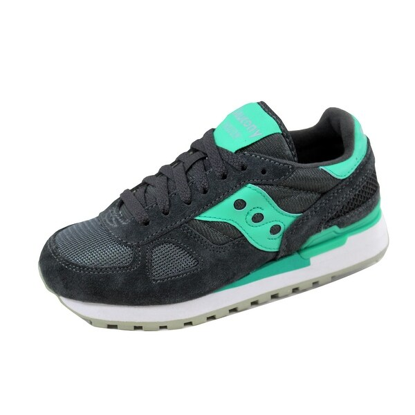 Saucony Women's Shadow Original Charcoal/Teal S1108-587 Size 5.5