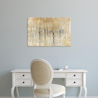 Easy Art Prints Avery Tillmon's 'Seasons End Gold' Premium Canvas Art
