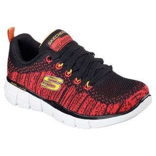 Skechers 97370L BKRD Boy's EQUALIZER 2.0 - PERFECT GAME Sneaker