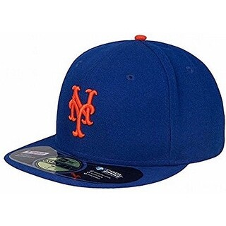New Era Mens 2017 Mlb Game Authentic On Field 59Fifty Cap New York Mets