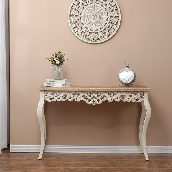 The Curated Nomad Anin Victorian Console and Entry Table. Opens flyout.