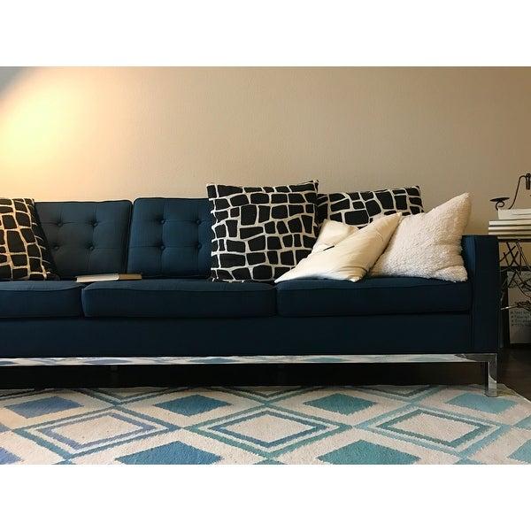 Sofa Loft modway loft fabric sofa free shipping today overstock com 18299192