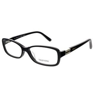 Valentino V2623 001 Black Rectangular Valentino Eyewear