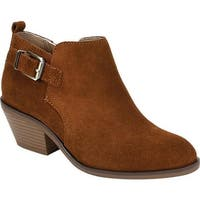 White Mountain Women's Santiago Bootie Whiskey Suede