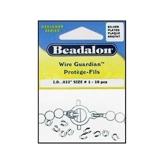 "Beadalon Wire Guardian .022"" Silver Plate 20pc"