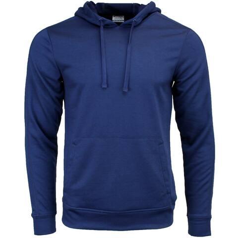 ASICS Hoodie Mens Athletic Hoodie - Blue