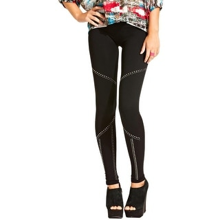 Material Girl Womens Juniors Leggings Stretch - M/L
