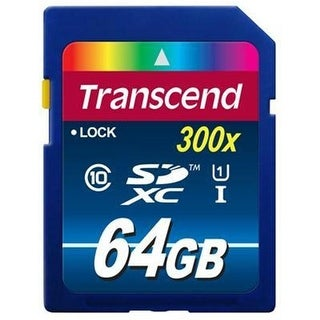 Transcend Information TS64GSDU1 64gb Sdxc Class10 Uhs I, 300x