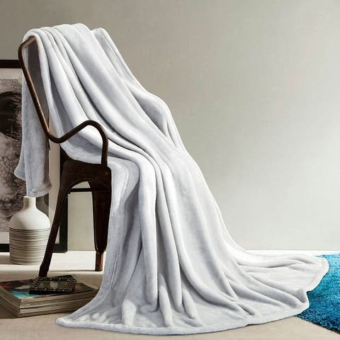 Elle Decor Silky Soft Throws for Couch Sofa and Bed