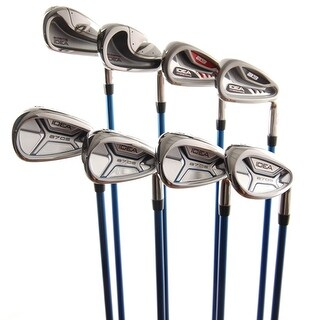 New Adams Idea Mixed Iron Set 4-PW,SW Aldila 55 R-Flex Graphite RH