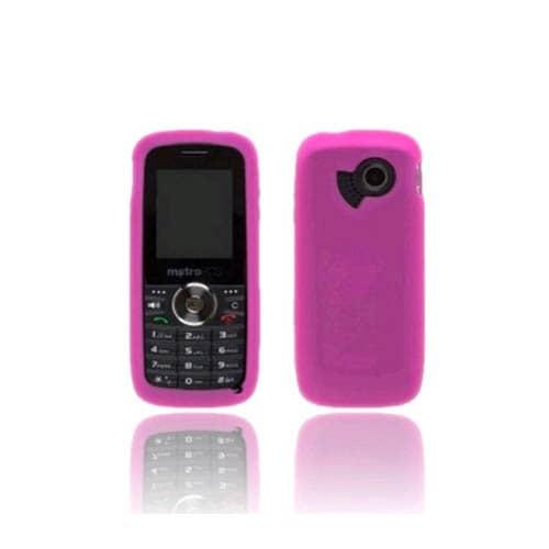 Metro PCS Huawei M228 Silicon Gel case - Dark Pink
