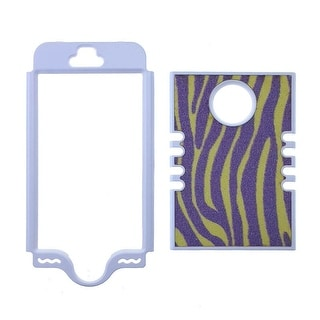 Rocker Series Snap-On Protector Case for Apple iPhone 5 / 5S (Fabric Design)