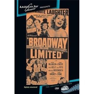 Broadway Limited DVD Movie 1942