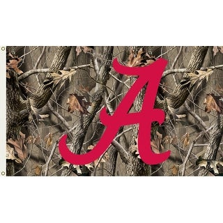 University of Alabama Crimson Tide Camo Flag