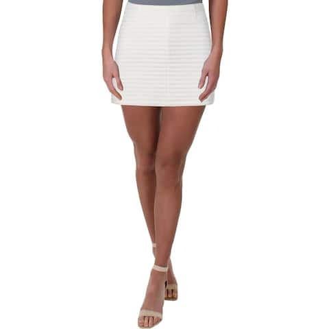 Theory Womens Keeta K Mini Skirt Terry Cloth A-Line - 00