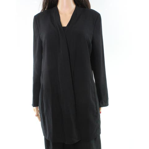 Akris Open-Front Women's Career Jacket Wool