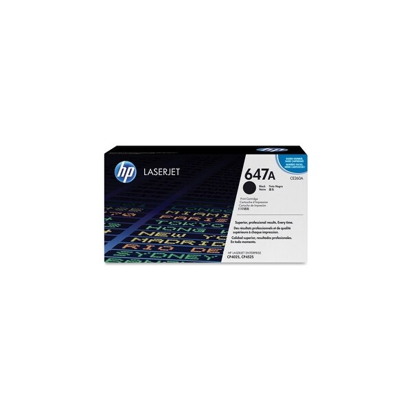 HP 649X High Yield Black Original LaserJet Toner Cartridge (CE260AG)(Single Pack)