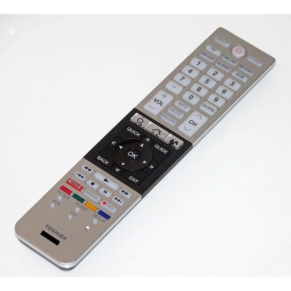 OEM Toshiba Remote Control Originally Shipped With: 58L7300UB, 58L7300UC, 58L7300UM, 65L7300, 65L7300U, 65L7300UB
