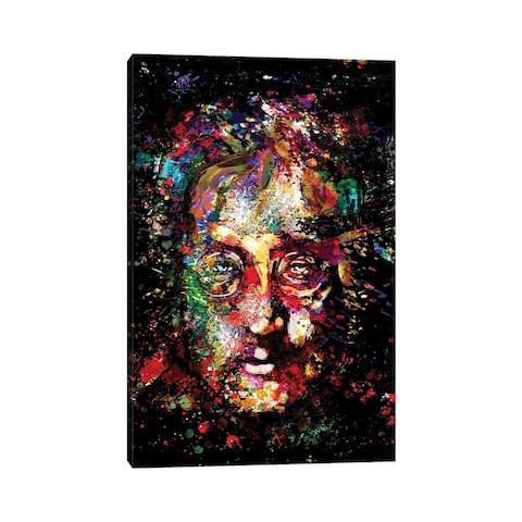 "iCanvas ""John Lennon - The Beatles ""Imagine"""" by Rockchromatic Canvas Print"