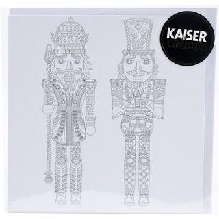 "Kaisercolour Gift Card W/Envelope 6""X6""-Nutcrackers"