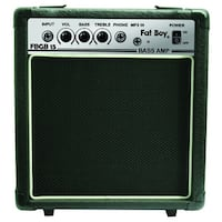 fat boy 15 watt bass amp