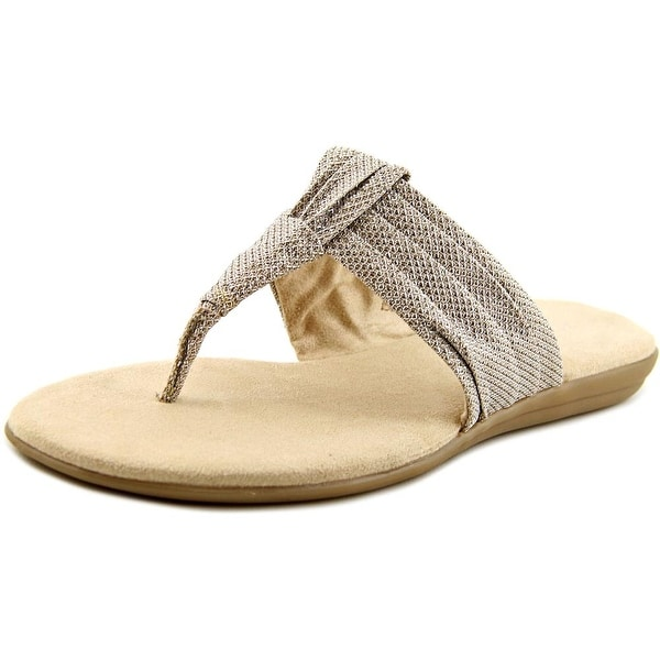 Aerosoles Chlairvoyant Taupe Metallic Sandals