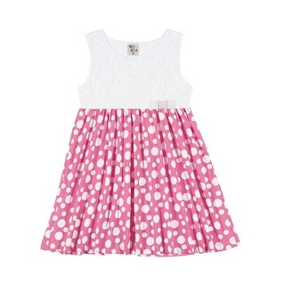 Pulla Bulla Polka Dot dress for girls ages 2-10 years