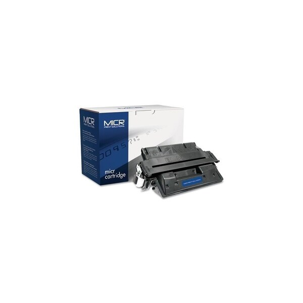 MICR Print Solutions Toner-Black Compatible with C8061XM High-Yield MICR Toner