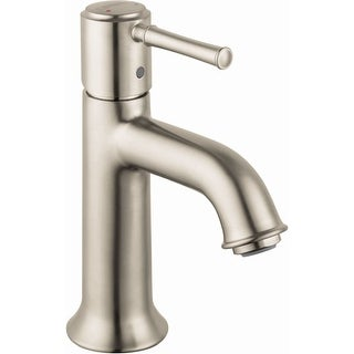 Hansgrohe 14111  Talis C 1.2 GPM Single Hole Bathroom Faucet with EcoRight, Quick Clean, and ComfortZone Technologies - Drain