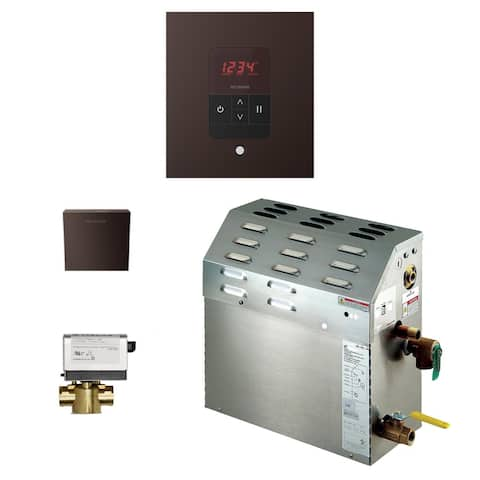 Mr Steam 150C1ATSQ Residential 150 cu ft Steam Shower Package - with Generator