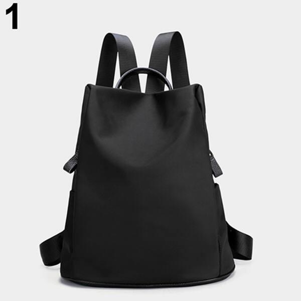 Women S Waterproof Lightweight Nylon Bookbag Backpack