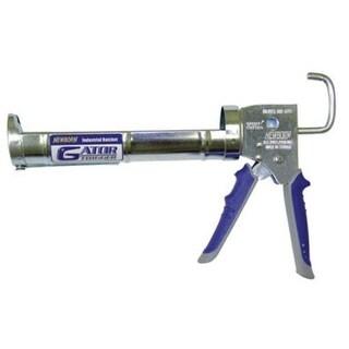 Newborn 960-GTR Gator Trigger Industrial Ratchet Rod Caulk Gun, 1/10 Gallon