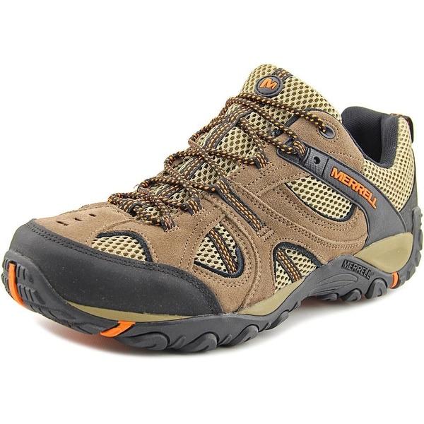 Merrell Yokota Trail Vent Men Round Toe Suede Brown Hiking Shoe