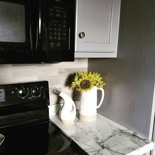 Bolder Stone ™ 6in x 24in Self Adhesive Stone Wall Tile - Smoke - 6 Tiles/6 sq Ft.