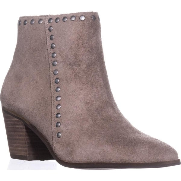 Lucky Brand Linnea Studded Ankle Boots, Brindle