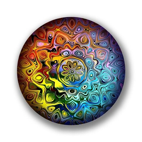 Next Innovations 101410029-ENCHANTED 24 in. Enchanted Round Wall Art